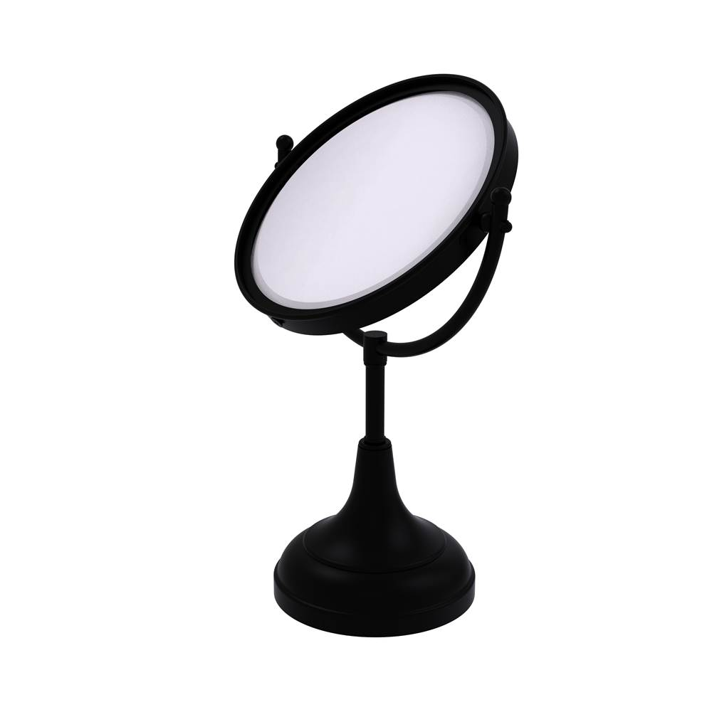 Allied Brass Magnifying Mirrors Bathroom Accessories item DM-2/4X-BKM