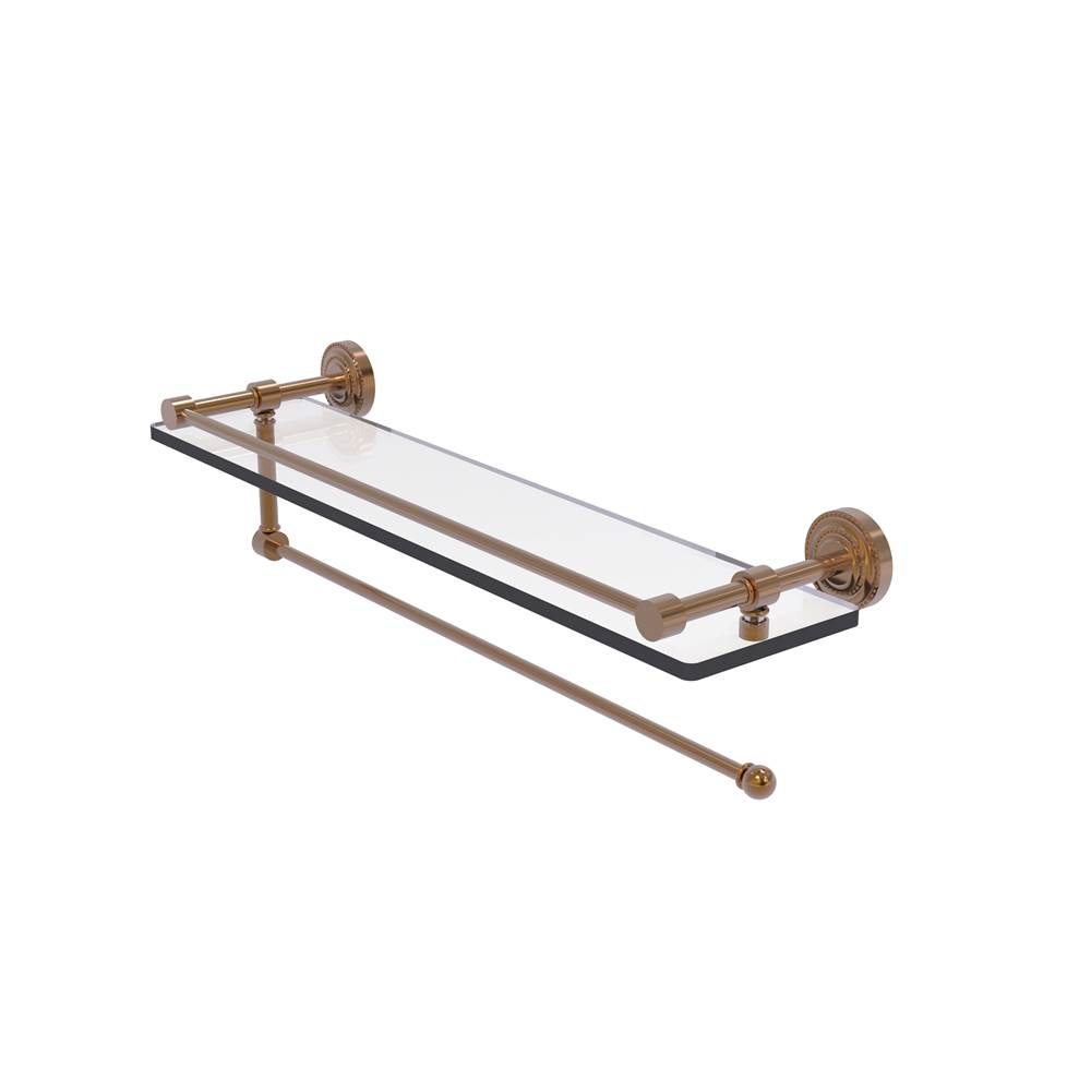 Allied Brass Shelves Bathroom Accessories item DT-1PT/22-GAL-BBR