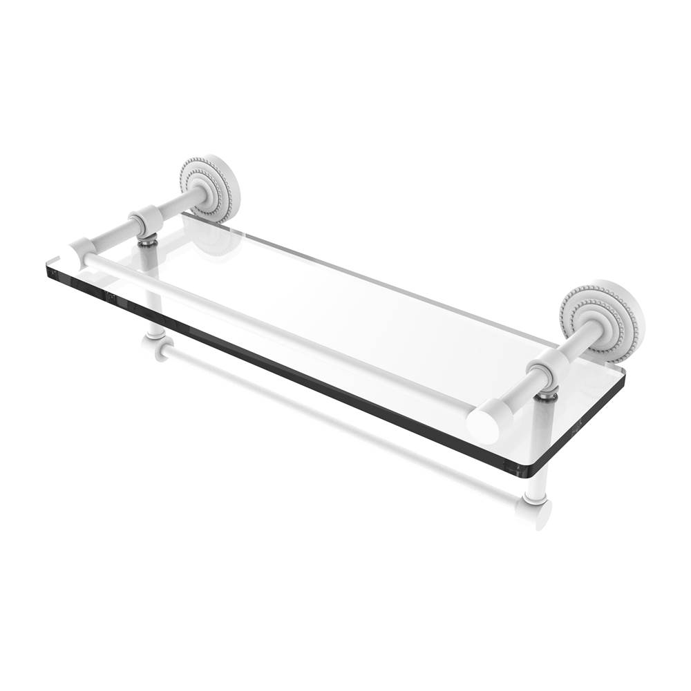 Allied Brass Shelves Bathroom Accessories item DT-1TB/16-GAL-WHM