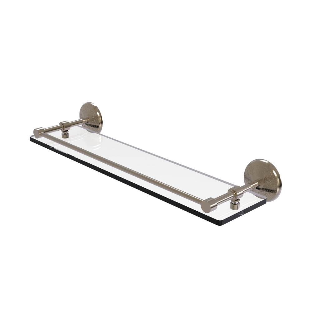Allied Brass Shelves Bathroom Accessories item MC-1/22-GAL-PEW