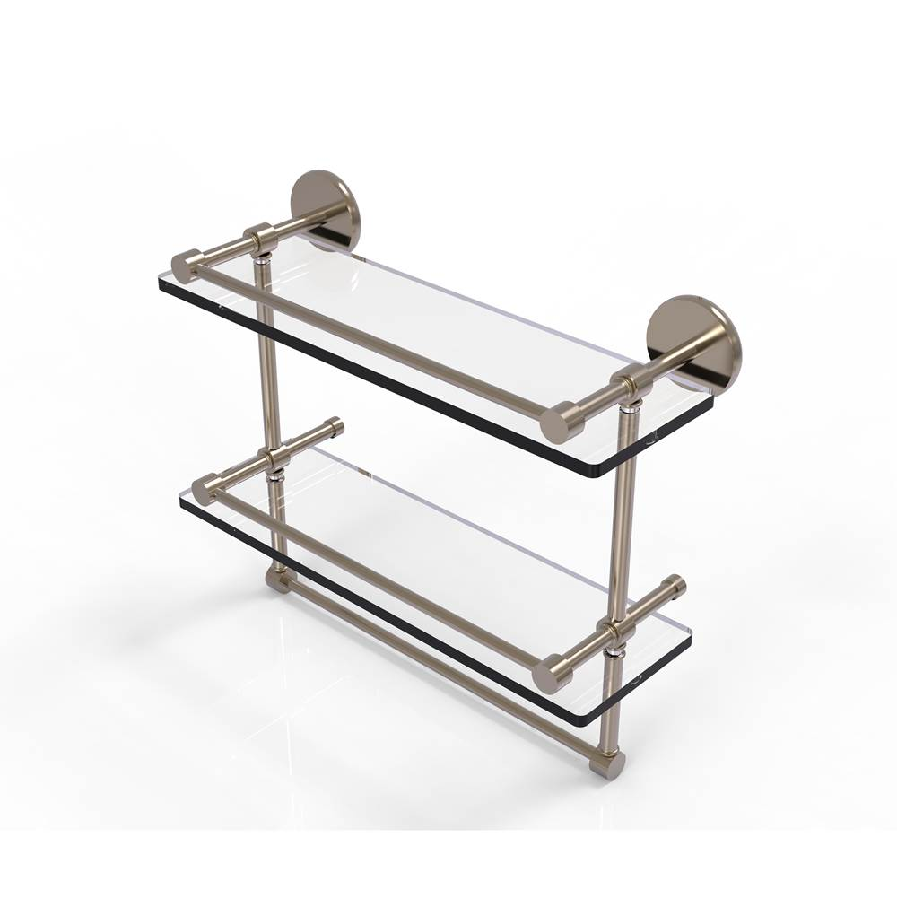 Allied Brass Shelves Bathroom Accessories item P1000-2TB/16-GAL-PEW