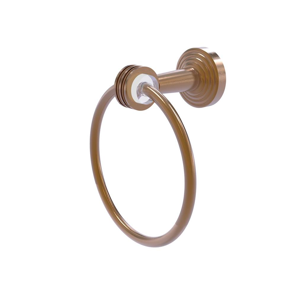 Allied Brass Towel Rings Bathroom Accessories item PB-16D-BBR