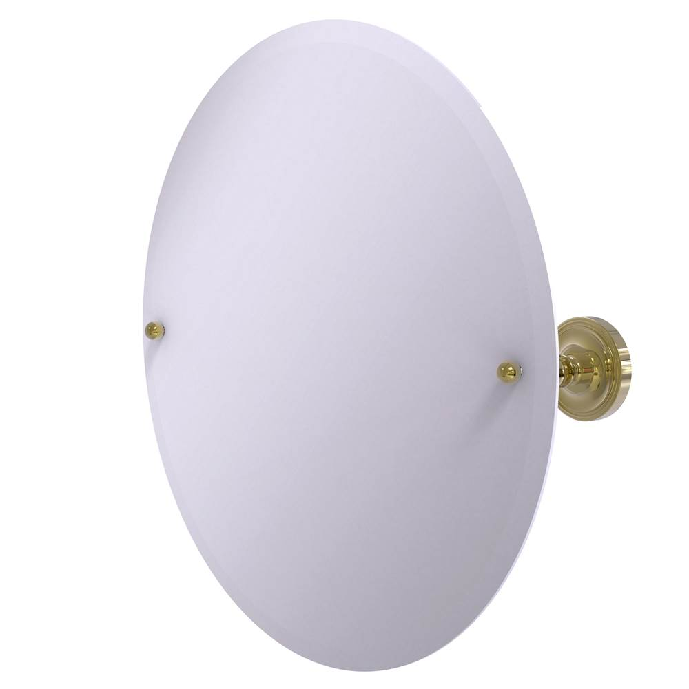 Allied Brass Round Mirrors item PR-90-UNL