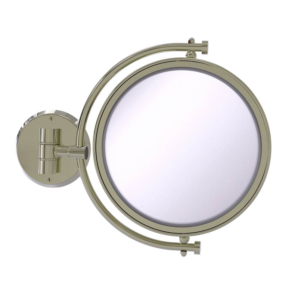 Allied Brass Magnifying Mirrors Bathroom Accessories item WM-4/5X-PNI