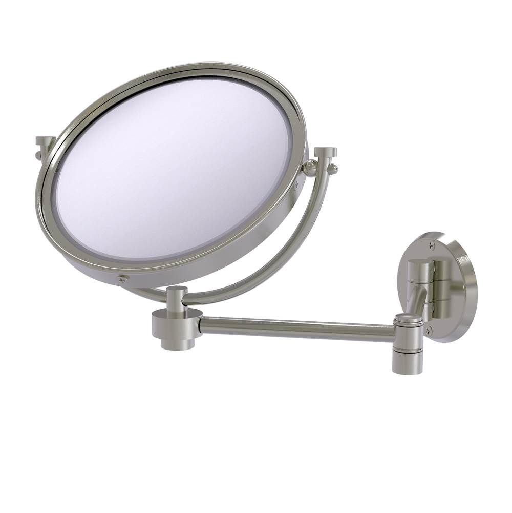 Allied Brass Magnifying Mirrors Bathroom Accessories item WM-6/3X-SN