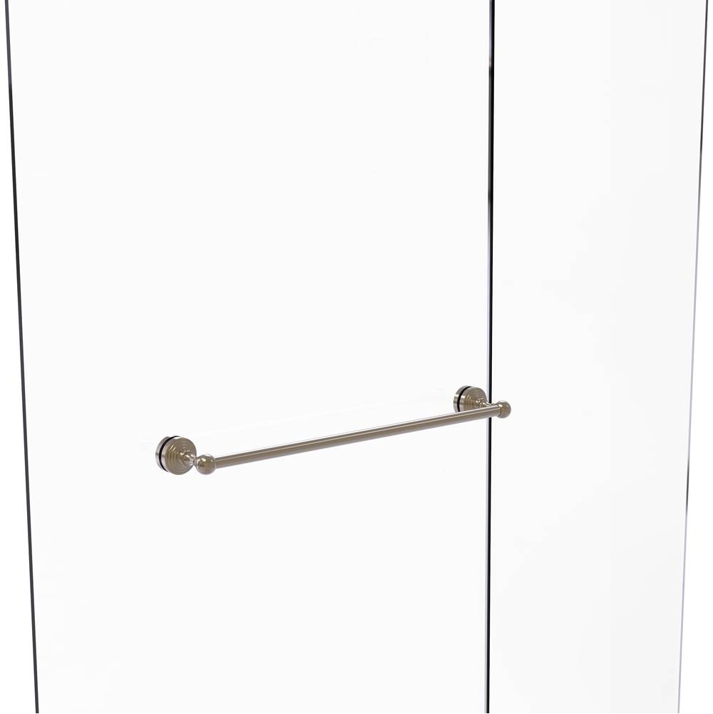 Allied Brass  Shower Doors item WP-41-SM-24-PEW