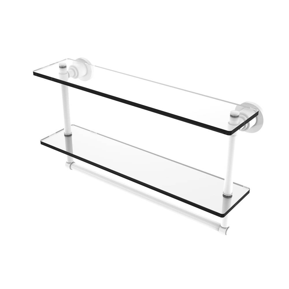 Allied Brass Shelves Bathroom Accessories item WS-2TB/22-WHM