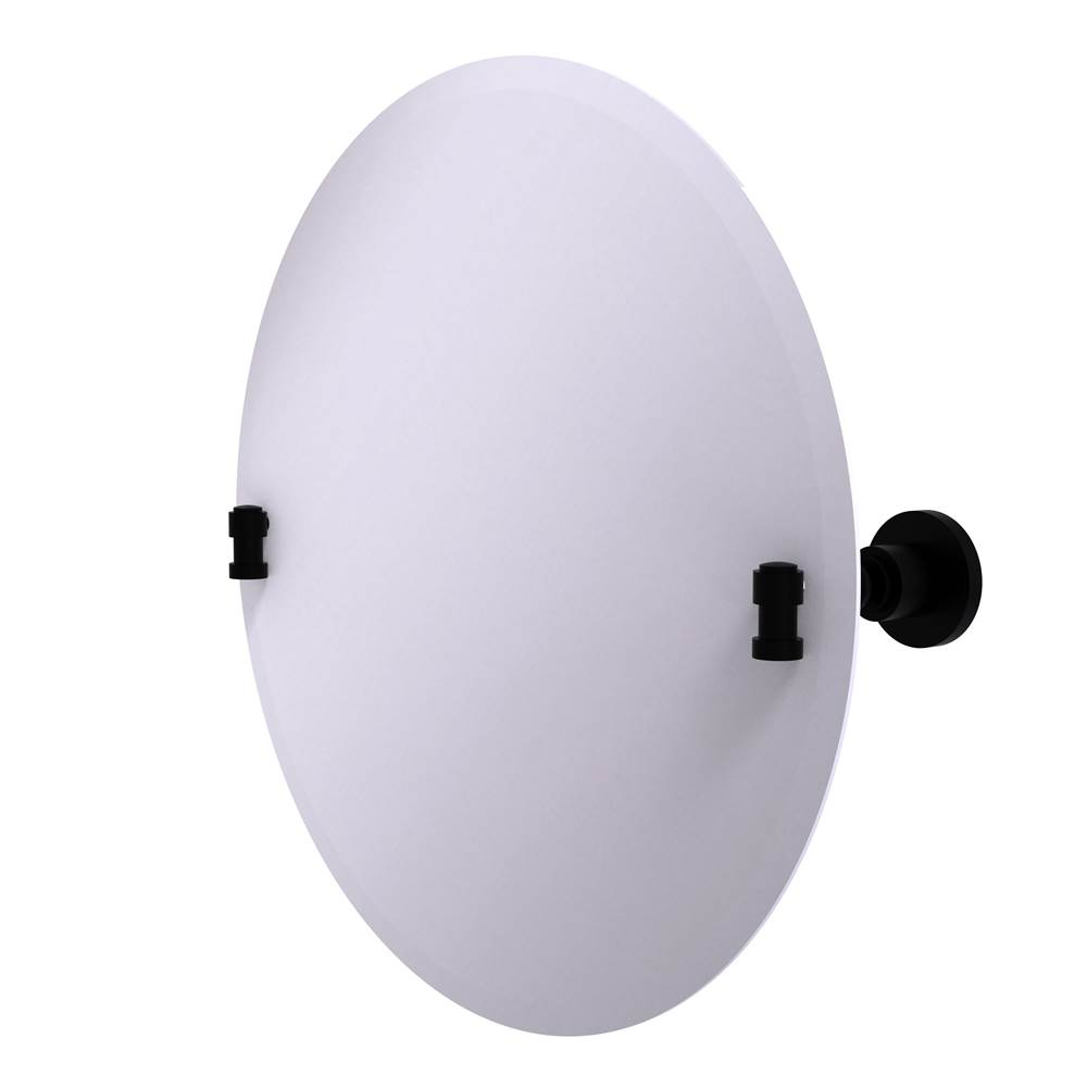 Allied Brass Round Mirrors item WS-90-BKM
