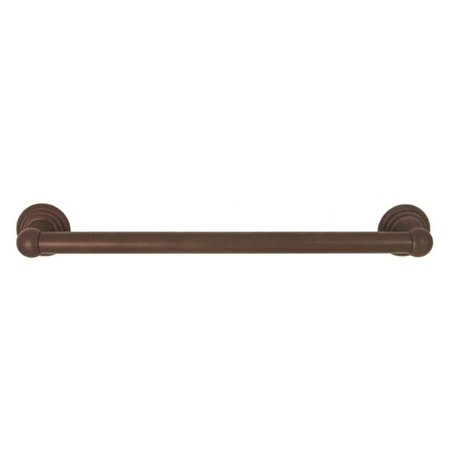 Alno Grab Bars Shower Accessories item A9023-24-CHBRZ
