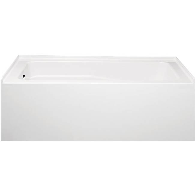 Americh Three Wall Alcove Air Bathtubs item KN6030TLA2-WH