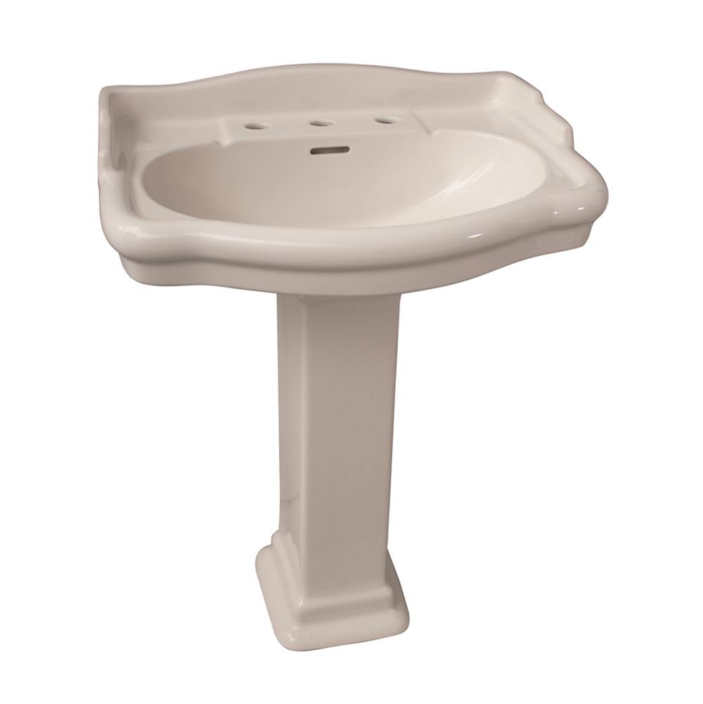 Barclay Complete Pedestal Bathroom Sinks item 3-858BQ