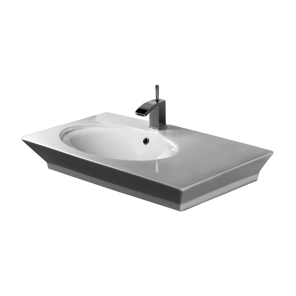 Barclay Wall Mount Bathroom Sinks item 4-370WH