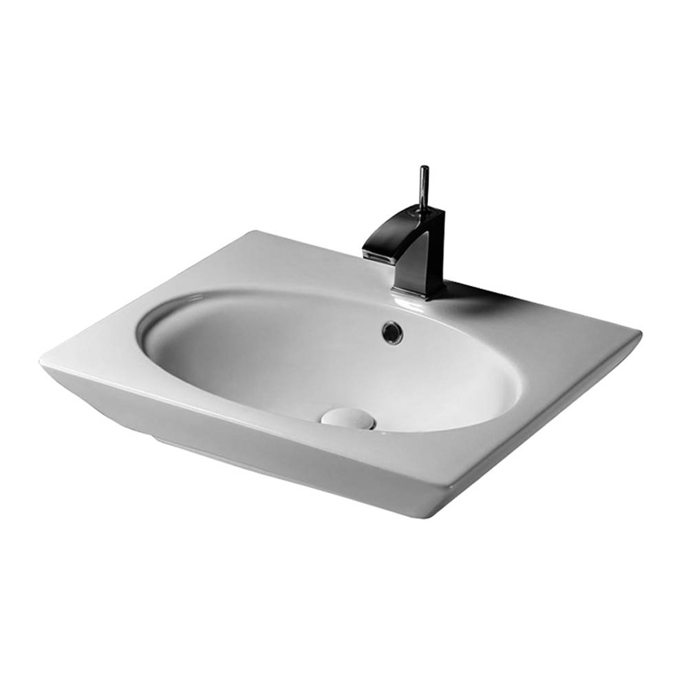 Barclay Wall Mount Bathroom Sinks item 4-375WH