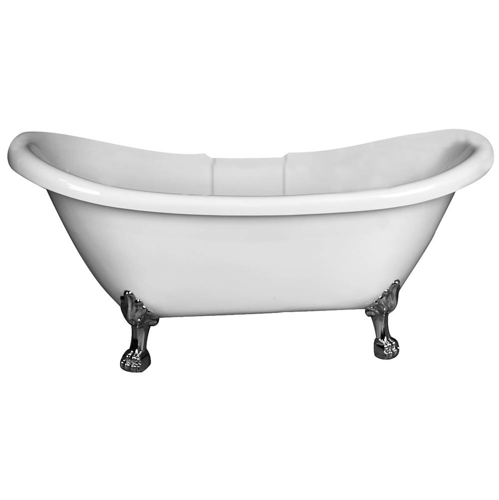Barclay Clawfoot Soaking Tubs item ADSTD69LP-WH-BN