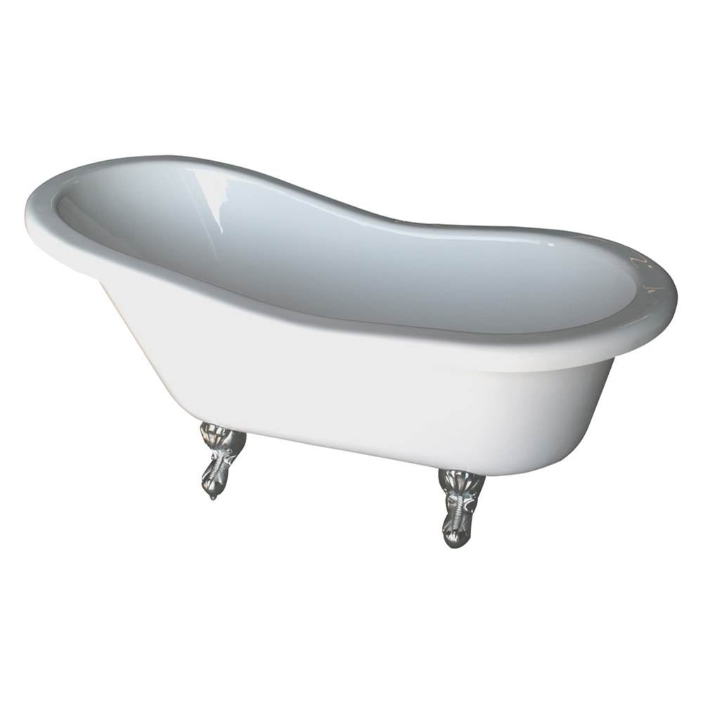 Barclay Clawfoot Soaking Tubs item ADTS60-WH-BN