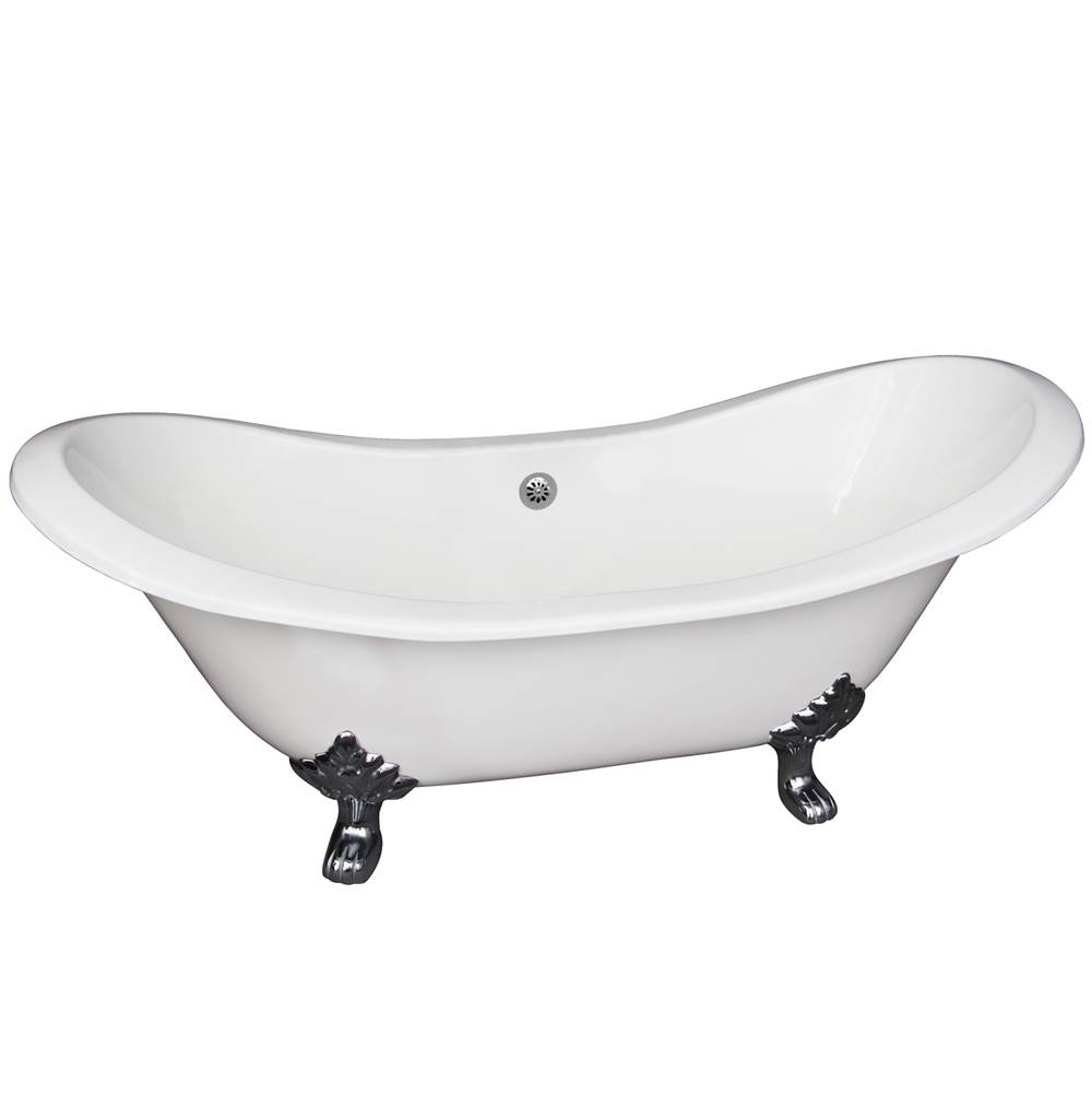 Barclay Clawfoot Soaking Tubs item CTDSN61-WH-WH