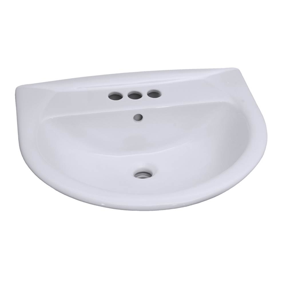 Barclay Complete Pedestal Bathroom Sinks item B/3-334WH