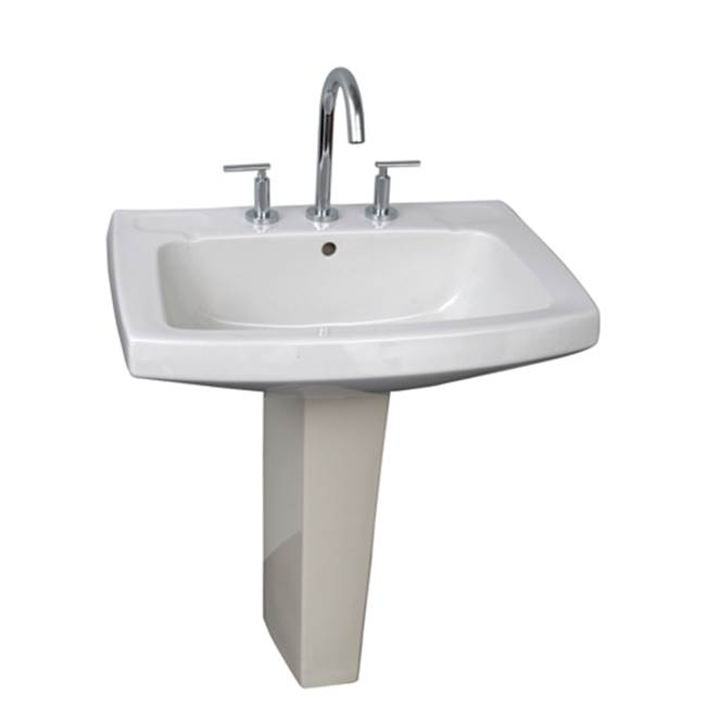 Barclay Vessel Only Pedestal Bathroom Sinks item 3-978WH