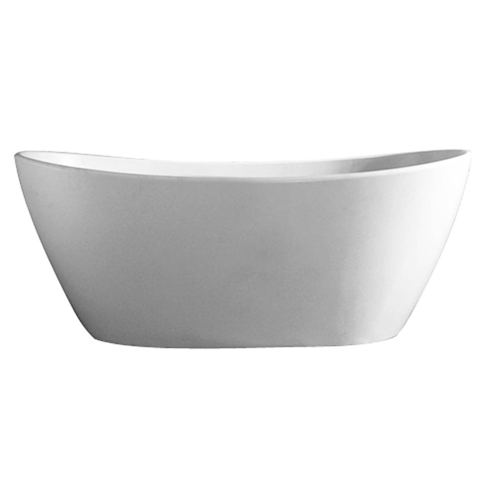 Barclay Free Standing Soaking Tubs item RTDSN56-OF-WH