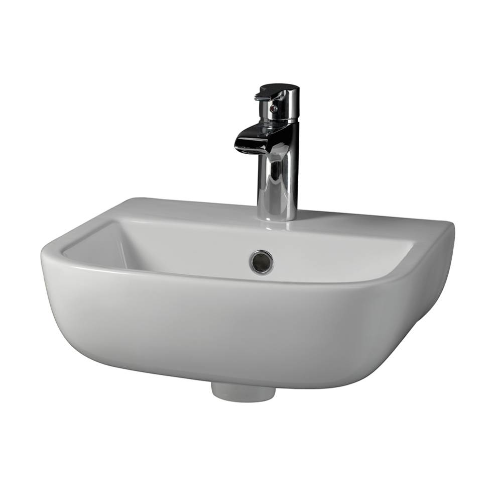 Barclay Wall Mount Bathroom Sinks item 4-211WH