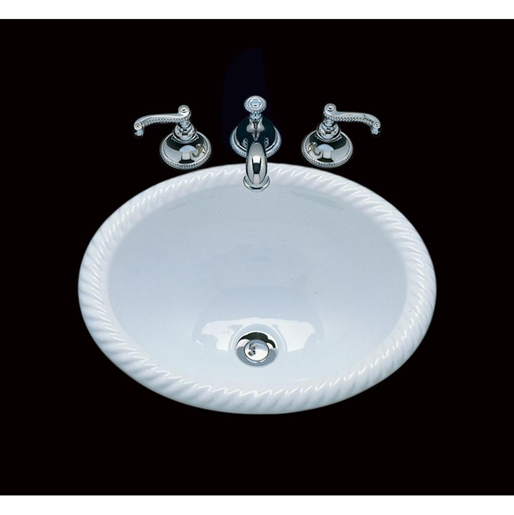 Bates And Bates Drop In Bathroom Sinks item P1815.D2.WB