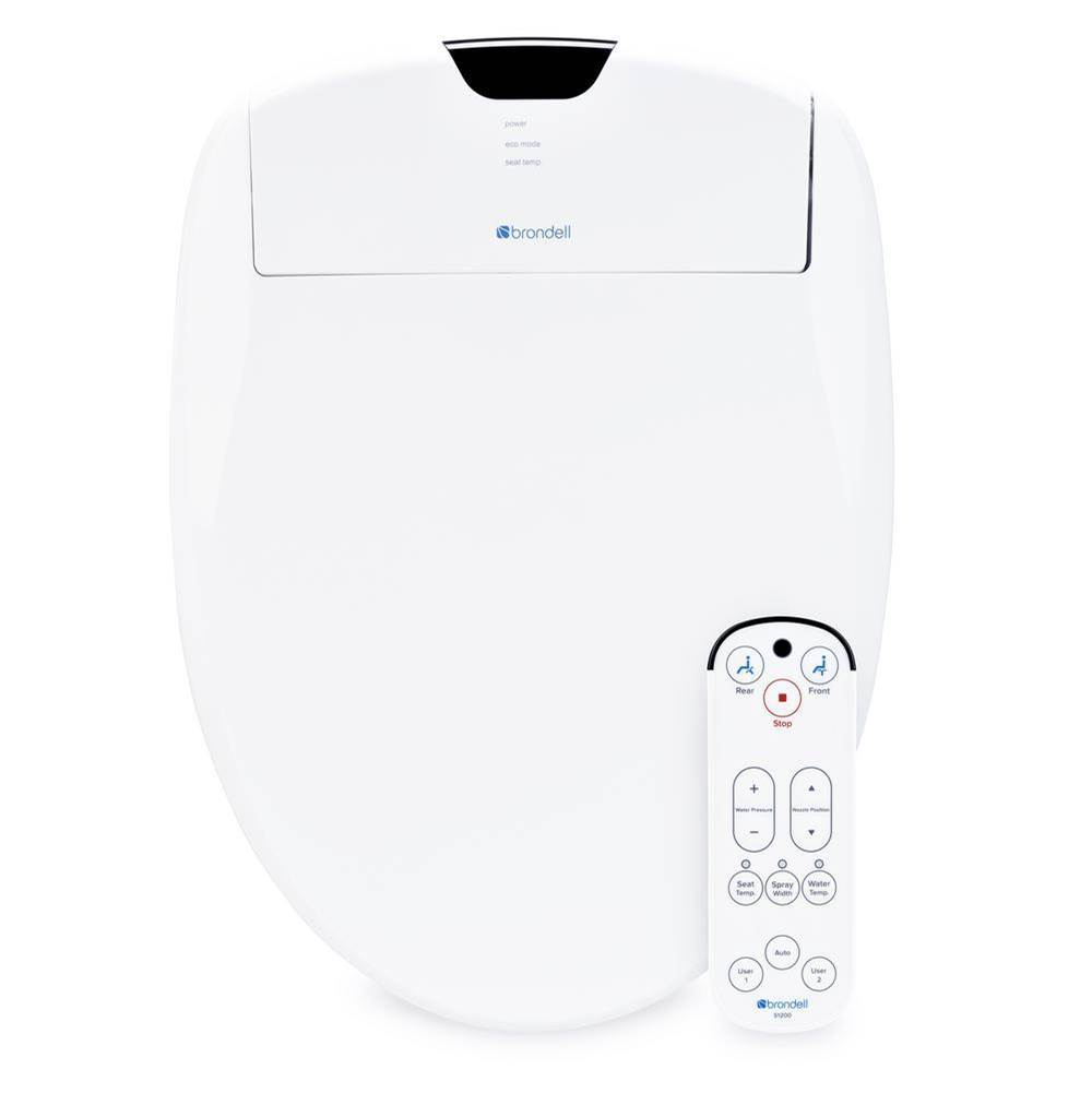 Brondell Elongated Bidet Seats item S1200-EW