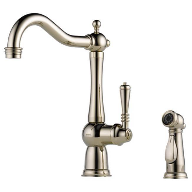 Brizo Deck Mount Kitchen Faucets item 61136LF-PN