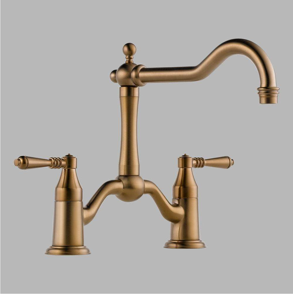 Brizo Bridge Kitchen Faucets item 62436LF-BZ