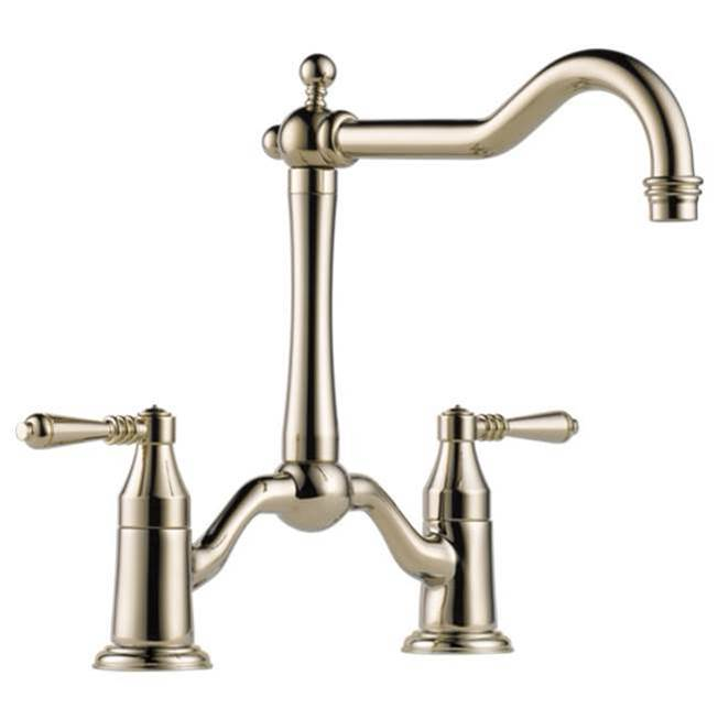 Brizo Bridge Kitchen Faucets item 62436LF-PN