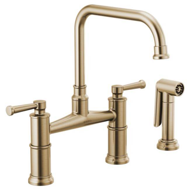 Brizo Bridge Kitchen Faucets item 62525LF-GL