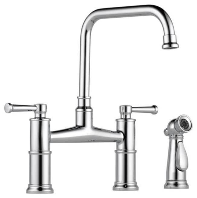 Brizo Bridge Kitchen Faucets item 62525LF-PC