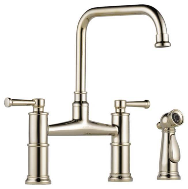 Brizo Bridge Kitchen Faucets item 62525LF-PN