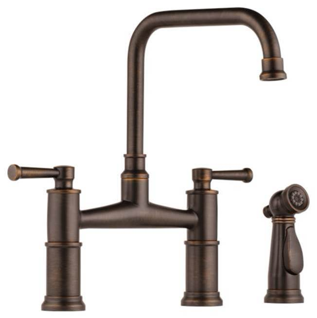 Brizo Bridge Kitchen Faucets item 62525LF-RB