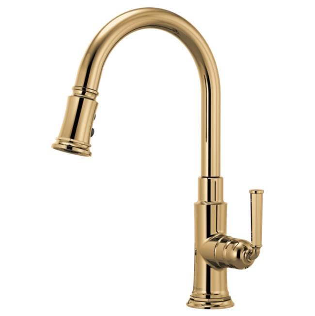 Brizo Pull Down Faucet Kitchen Faucets item 63074LF-PG