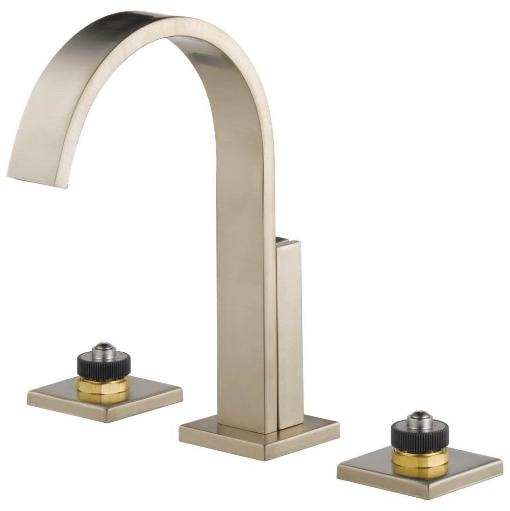 Brizo Widespread Bathroom Sink Faucets item 65380LF-BNLHP-ECO