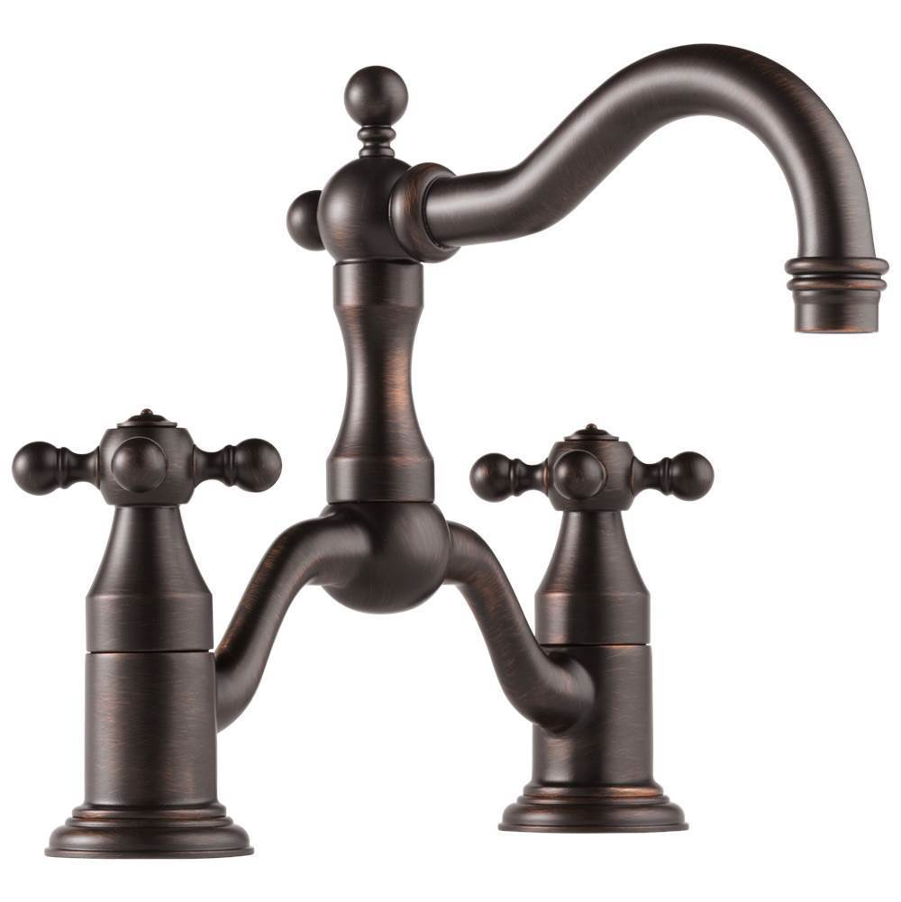 Brizo Bridge Bathroom Sink Faucets item 65538LF-RB-ECO