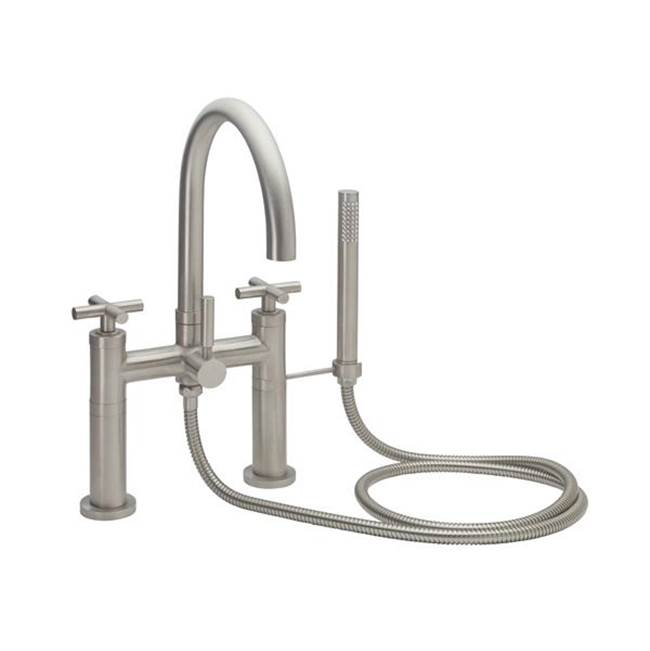 California Faucets Deck Mount Tub Fillers item 1108-XX.20-SS
