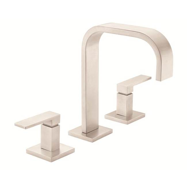 California Faucets Widespread Bathroom Sink Faucets item 7802ZBF-SS