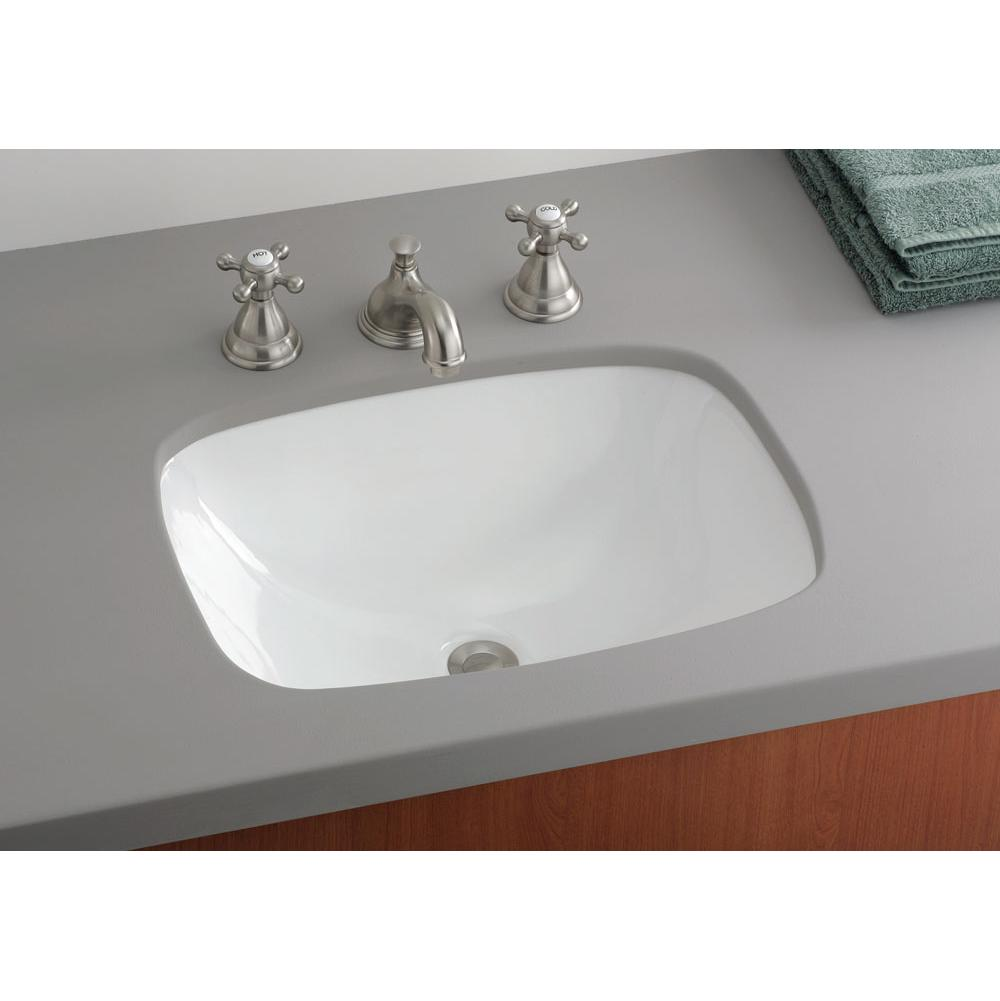 Cheviot Products Undermount Bathroom Sinks item 1116-WH
