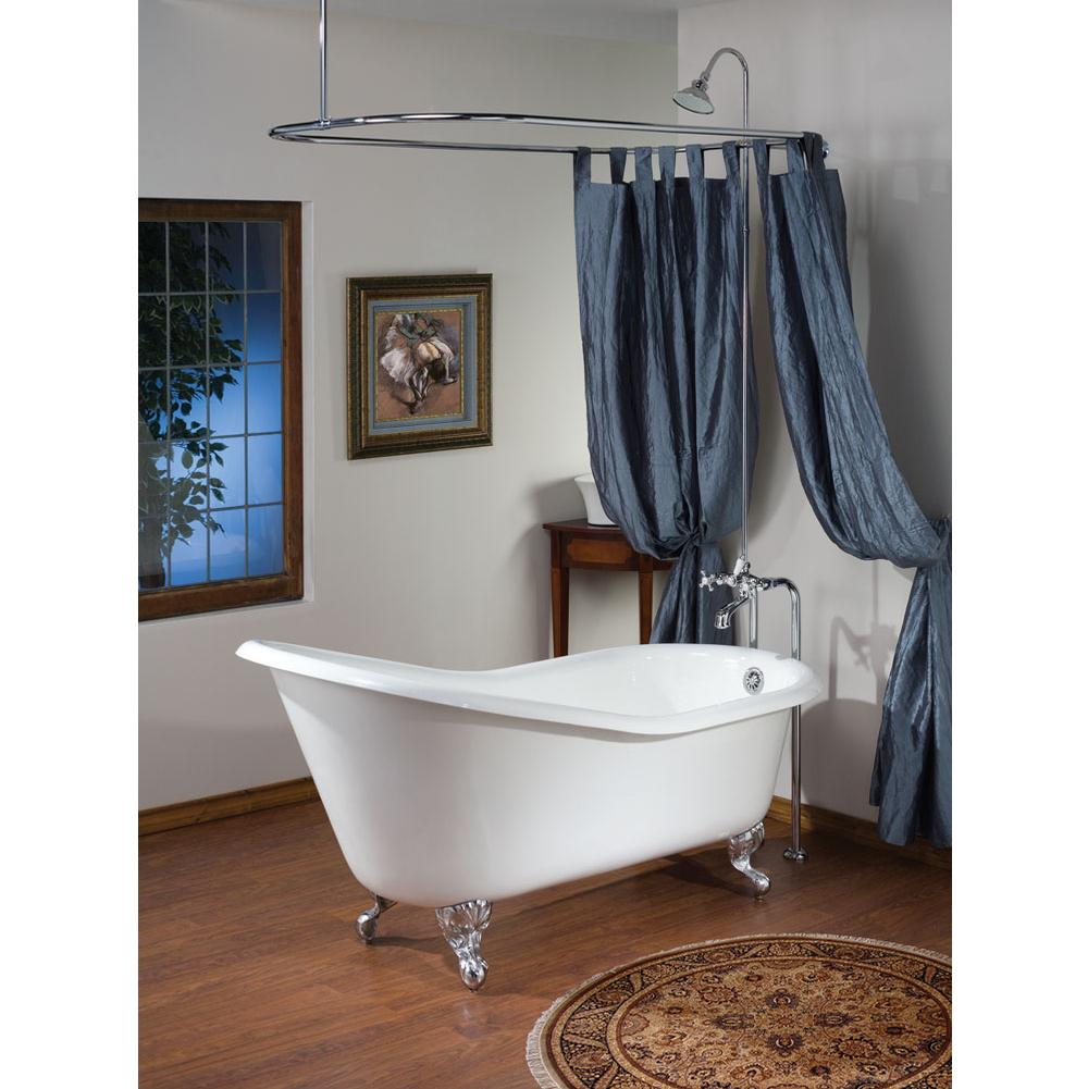 Cheviot Products Clawfoot Soaking Tubs item 2159-WC-PN-6