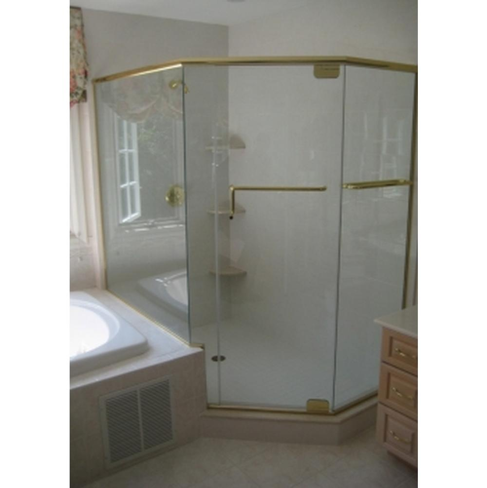 Century Bathworks Neo Angle Shower Doors item GAP-1669B
