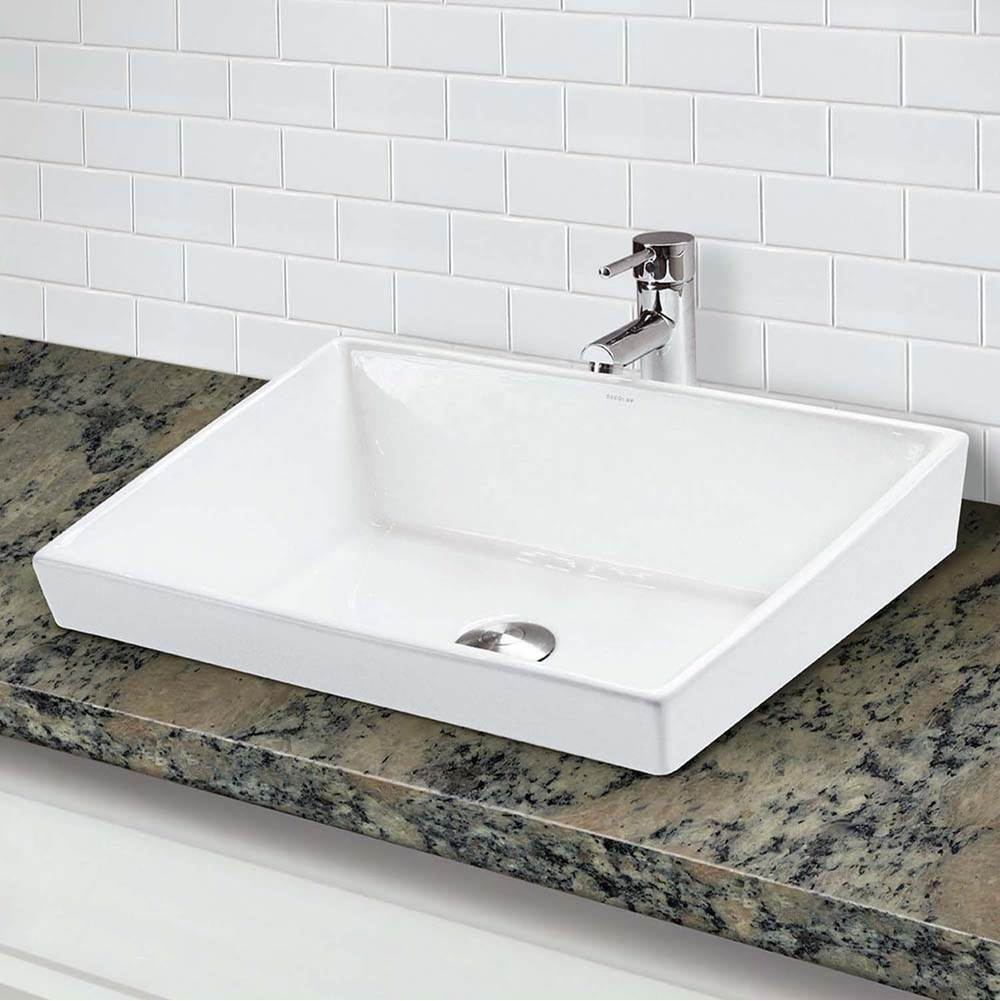 Decolav Vessel Bathroom Sinks item 1489-CWH