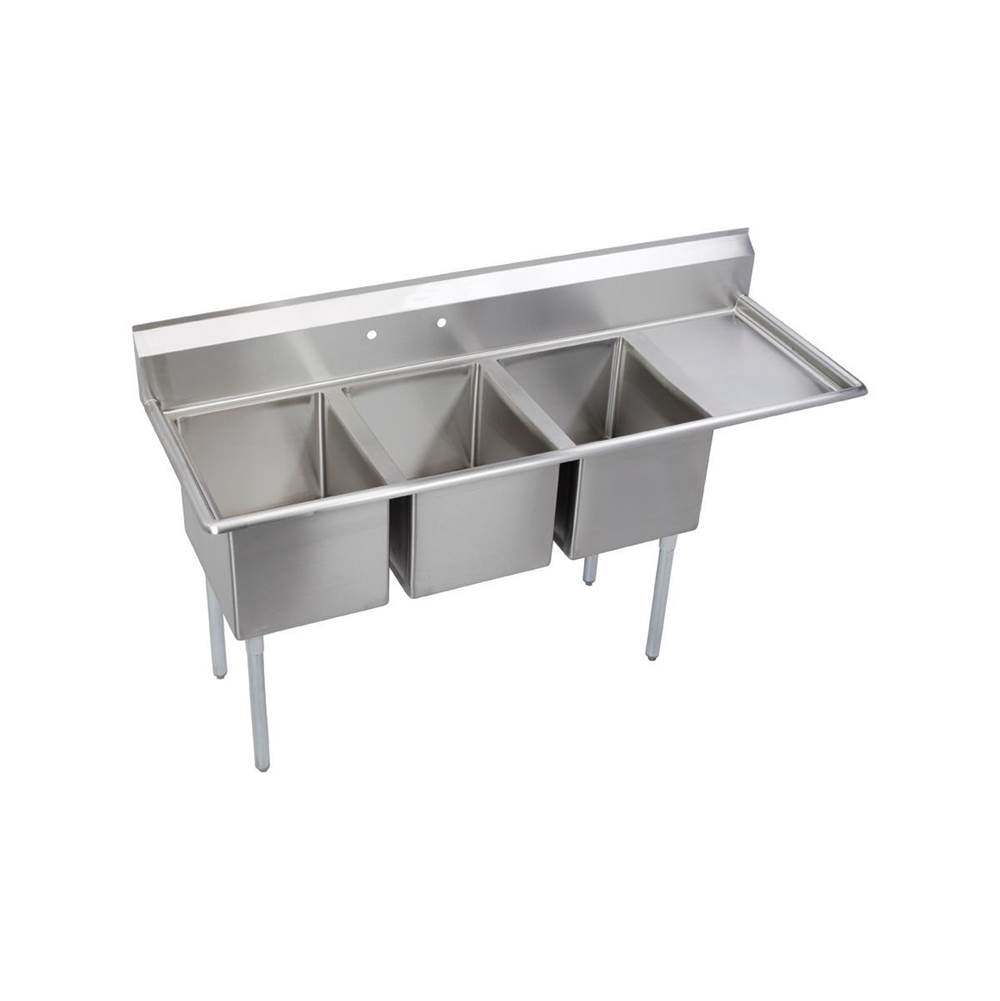 Elkay  Kitchen Sinks item 14-3C16X20-R-18X