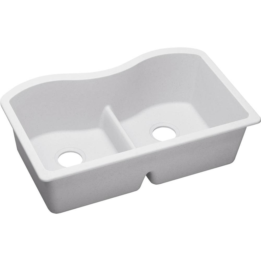Elkay Undermount Kitchen Sinks item ELGULB3322WH0