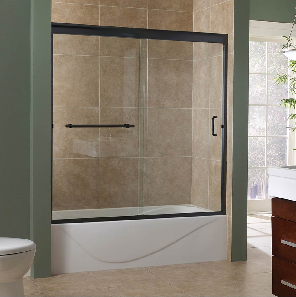 Foremost Tub Doors Shower Doors item MRST6060-CL-OR