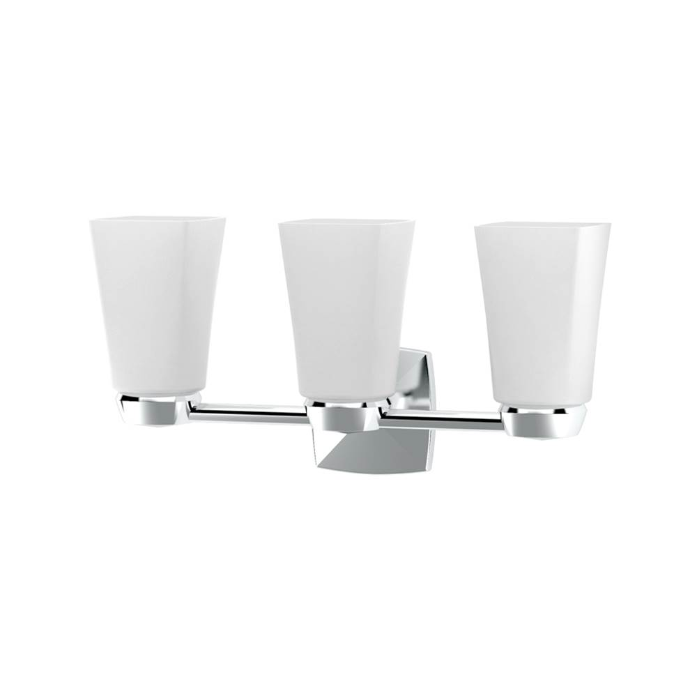 Gatco Three Light Vanity Bathroom Lights item 1696