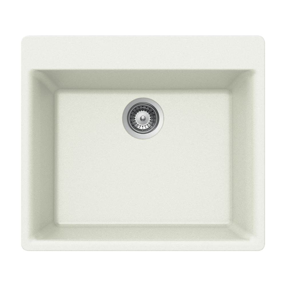 Hamat Drop In Kitchen Sinks item SIO-2420ST-WH