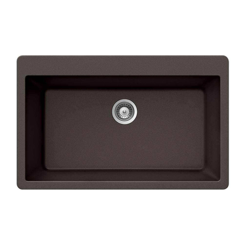 Hamat Drop In Kitchen Sinks item SIO-3321ST-MO