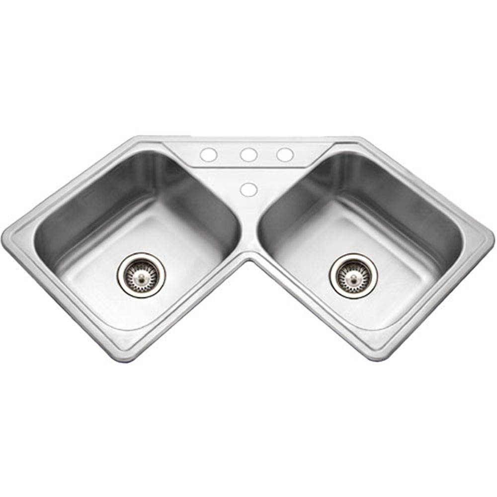 Hamat Drop In Kitchen Sinks item TUR-3232-DCT-1