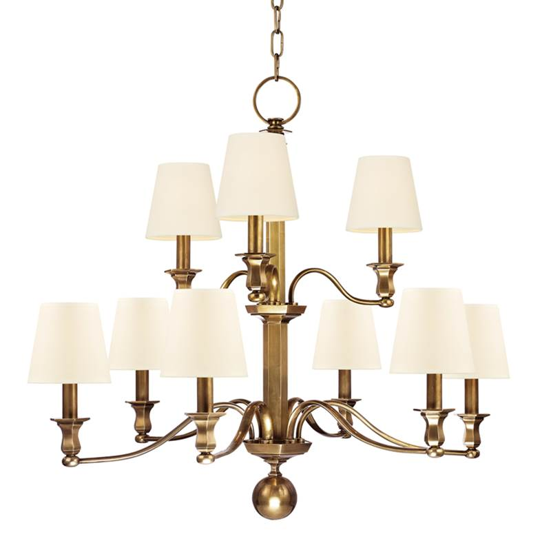 Hudson Valley Lighting Multi Tier Chandeliers item 1419-AGB-WS
